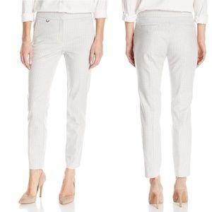 NEW Adrianna Papell Bi-Stretch Crop Pants WK